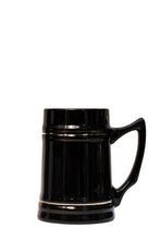 Beer Stein - Black Ceramic