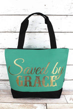 SAVED BY GRACE TOTE BAG