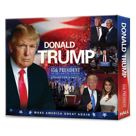 Donald Trump: 45th President of the United States Collectors Vault
