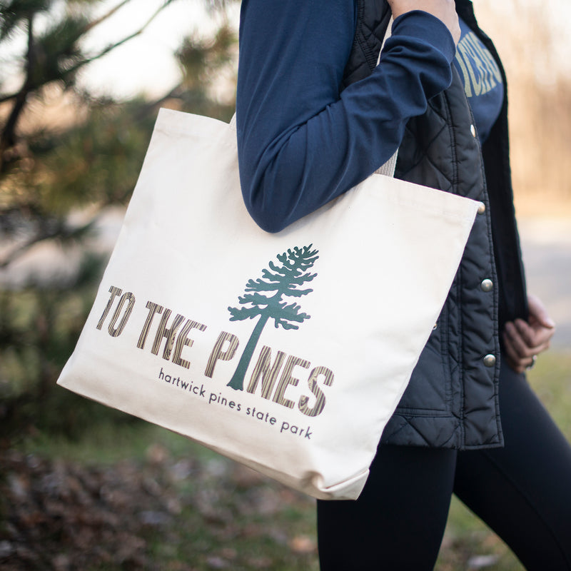 Hartwick Pines Tree Tote