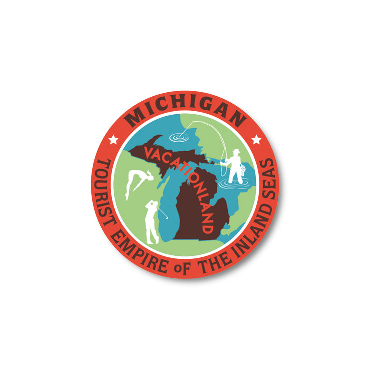 Tourist Empire Sticker
