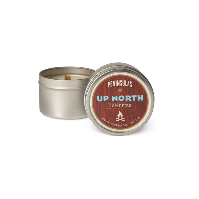 Up North Candle Tin
