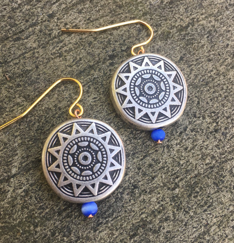 Sacred Sun Earrings