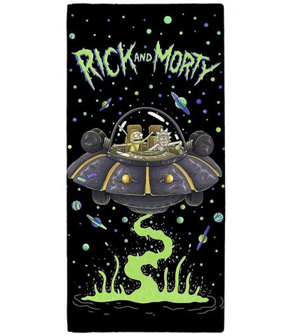 Rick and Morty Licensed Towel