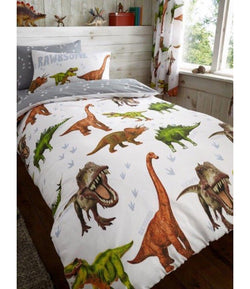 Dinosaur Single Quilt Cover Set