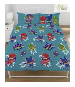 Pj Masks Double to queen Quilt Cover Set