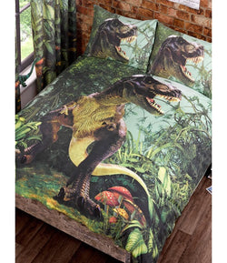 PRE ORDER DINOSAUR Double to Queen Quilt Cover Set