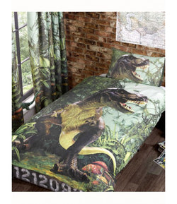 PRE ORDER Dinosaur Single Quilt Cover Set