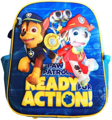 Backpack small 3D paw patrol