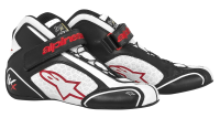 A/STARS -TECH 1-KX BOOTS-BLACK/WHITE/RED-42