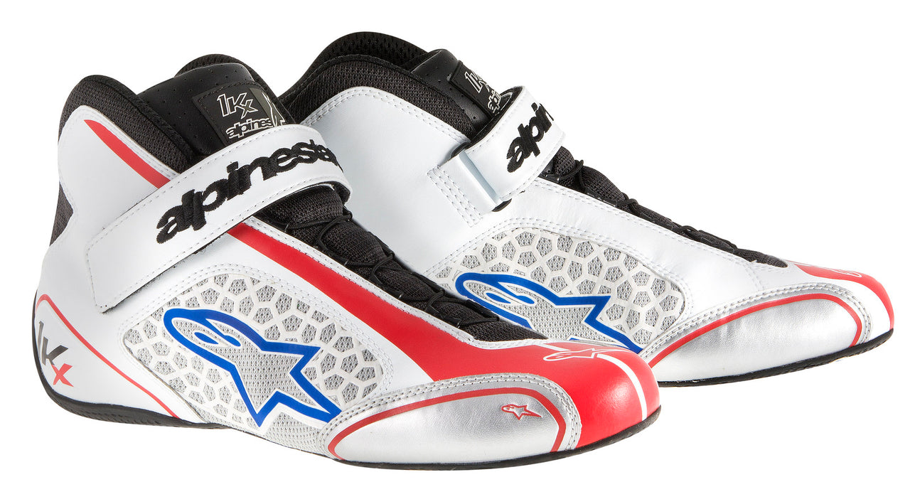 A/STARS -TECH 1-KX BOOTS-WHITE/RED/BLUE-45.5
