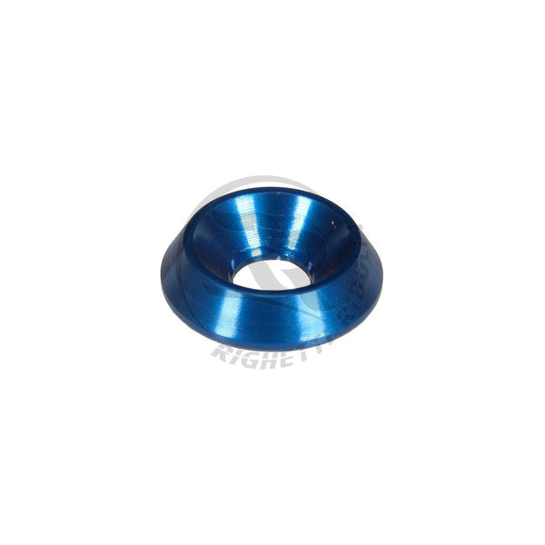 BLUE COUNTERSUNK WASHER 18x6mm