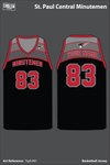 St Paul Central Women's Basketball Jersey - TqdLMH
