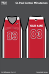 St Paul Central Women's Basketball Jersey - bynXsh