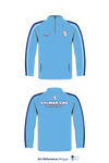 Sylmar CHS Track & Field Men's Quarter Zip - d6rgyp