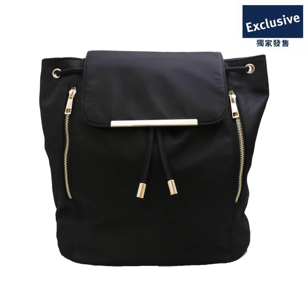 LOG-ON BastilleN Nylon Backpack -BLACK