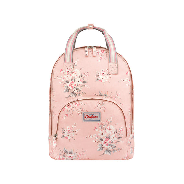 Cath Kidston Multi Pocket Backpack -  Spitalfields Pink