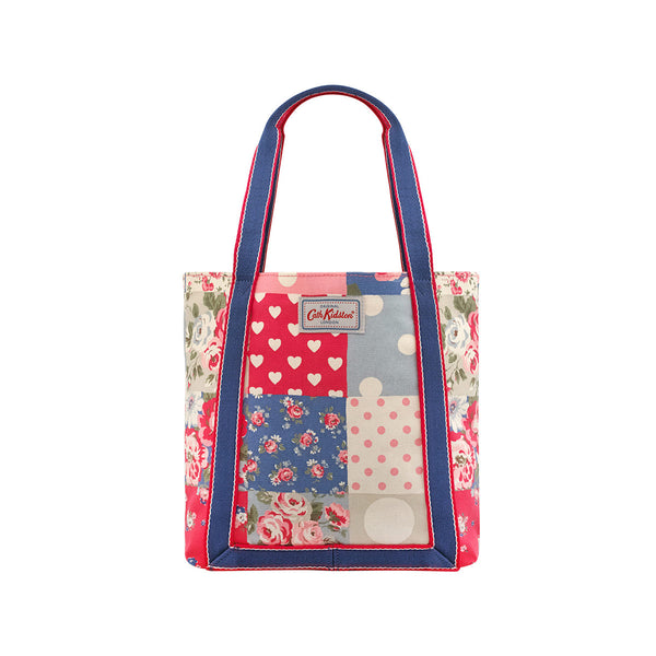 Cath Kidston Mini Reverse Coated Totebag - Patchwork Denim