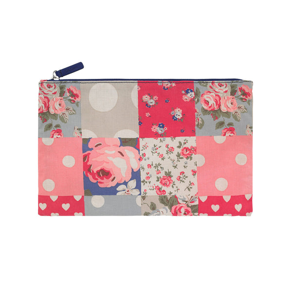 Cath Kidston Zip Purse - Patchwork Denim