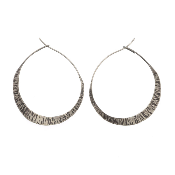 Medium New Moon Hoops