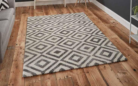Elegant 4893 Grey/White - Rug - Dream Floors and Furniture Ashton-Under-Lyne, Manchester