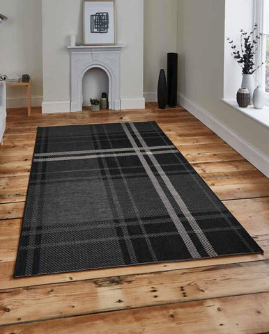 Breeze 6639 Black/Grey - Rug - Dream Floors and Furniture Ashton-Under-Lyne, Manchester