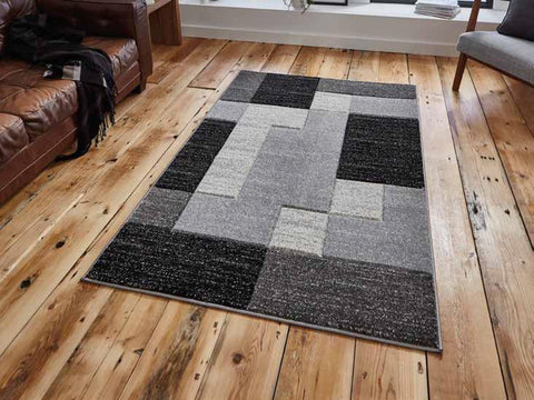 Matrix A0221 Black - Rug - Dream Floors and Furniture Ashton-Under-Lyne, Manchester