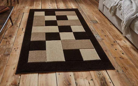 Matrix MT04 Brown/Beige - Rug - Dream Floors and Furniture Ashton-Under-Lyne, Manchester
