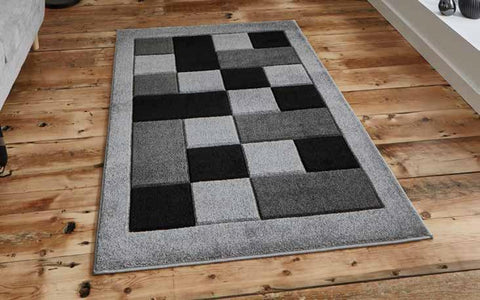 Matrix MT04 Grey - Rug - Dream Floors and Furniture Ashton-Under-Lyne, Manchester