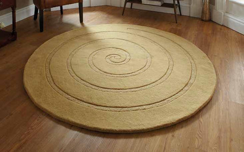 Spiral Gold - Rug - Dream Floors and Furniture Ashton-Under-Lyne, Manchester