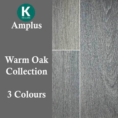 Amplus Warm Oak Vinyl - Vinyl - Dream Floors and Furniture Ashton-Under-Lyne, Manchester