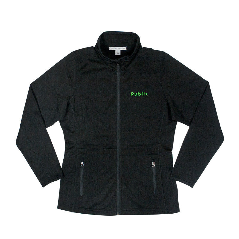 Ladies' Pique Fleece Jacket