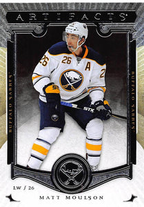 2015-16 Upper Deck Artifacts #87 Matt Moulson MINT Sabres
