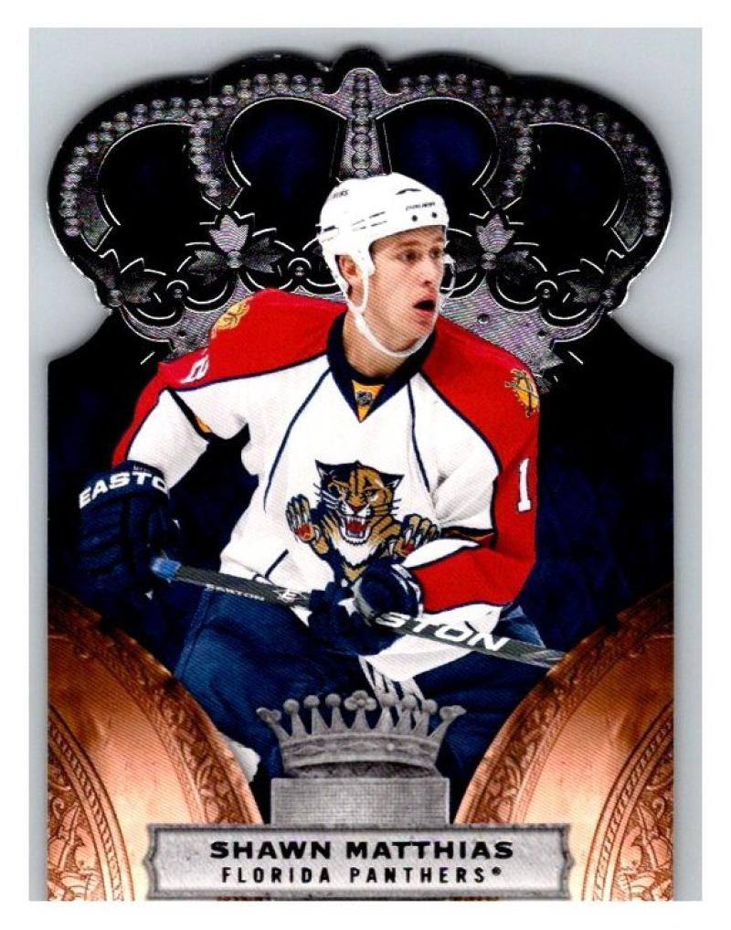 2010-11 Crown Royale #43 Shawn Matthias NM-MT Hockey NHL Panthers