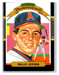 1987 Donruss #1 Wally Joyner Angels DK MLB Mint Baseball