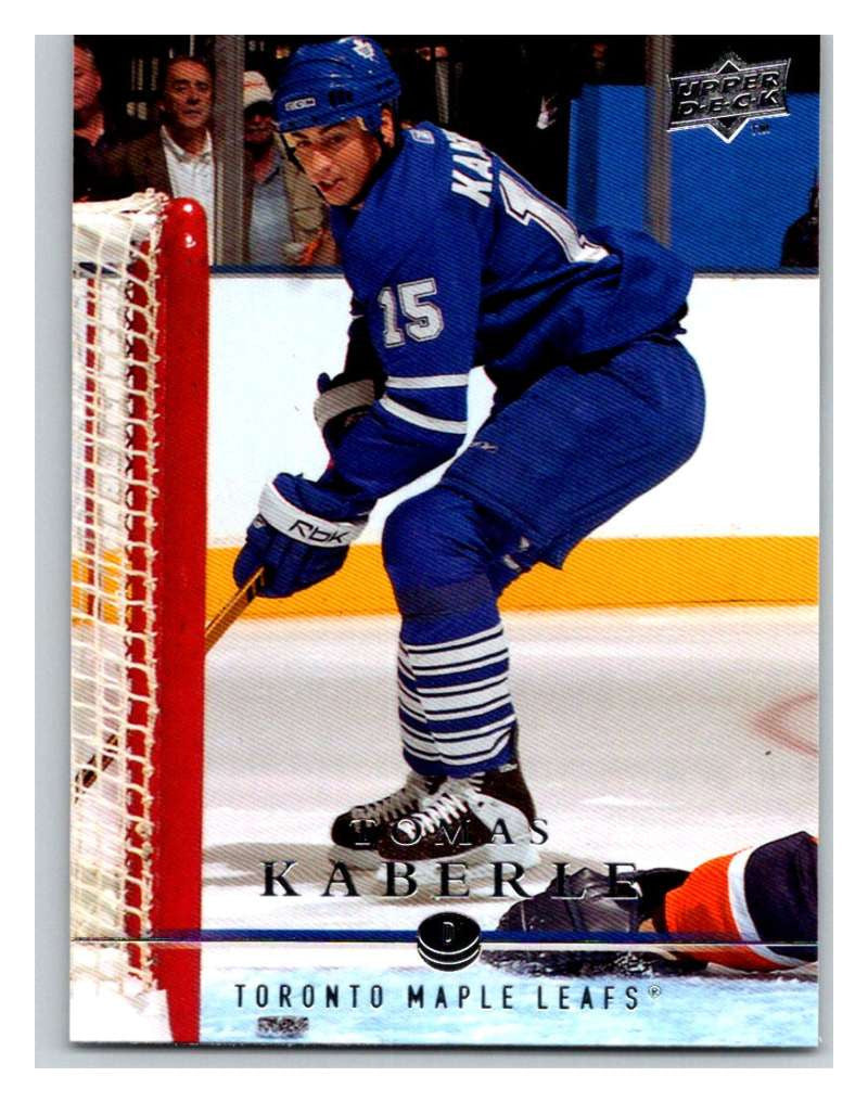 2008-09 Upper Deck #18 Tomas Kaberle Maple Leafs