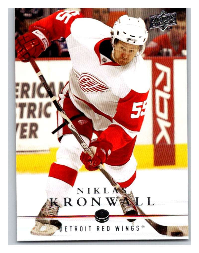 2008-09 Upper Deck #132 Tomas Holmstrom Red Wings