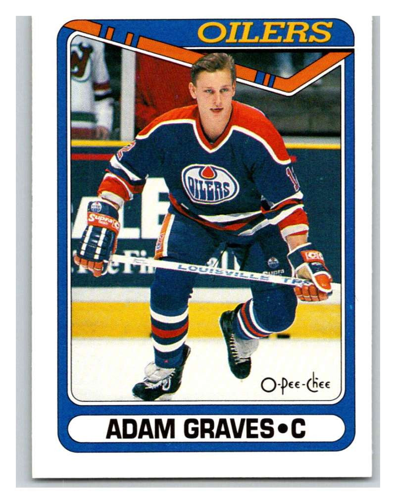 1990-91 O-Pee-Chee #480 Adam Graves Mint RC Rookie