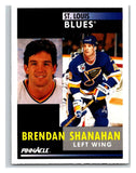 1991-92 Pinnacle #41 Brendan Shanahan Blues