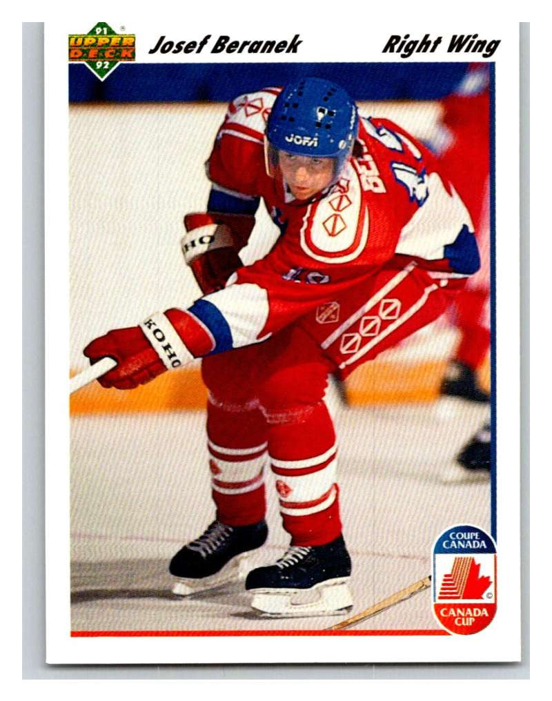 1991-92 Upper Deck #17 Josef Beranek Mint RC Rookie
