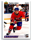1991-92 Upper Deck #261 Stephan Lebeau Mint