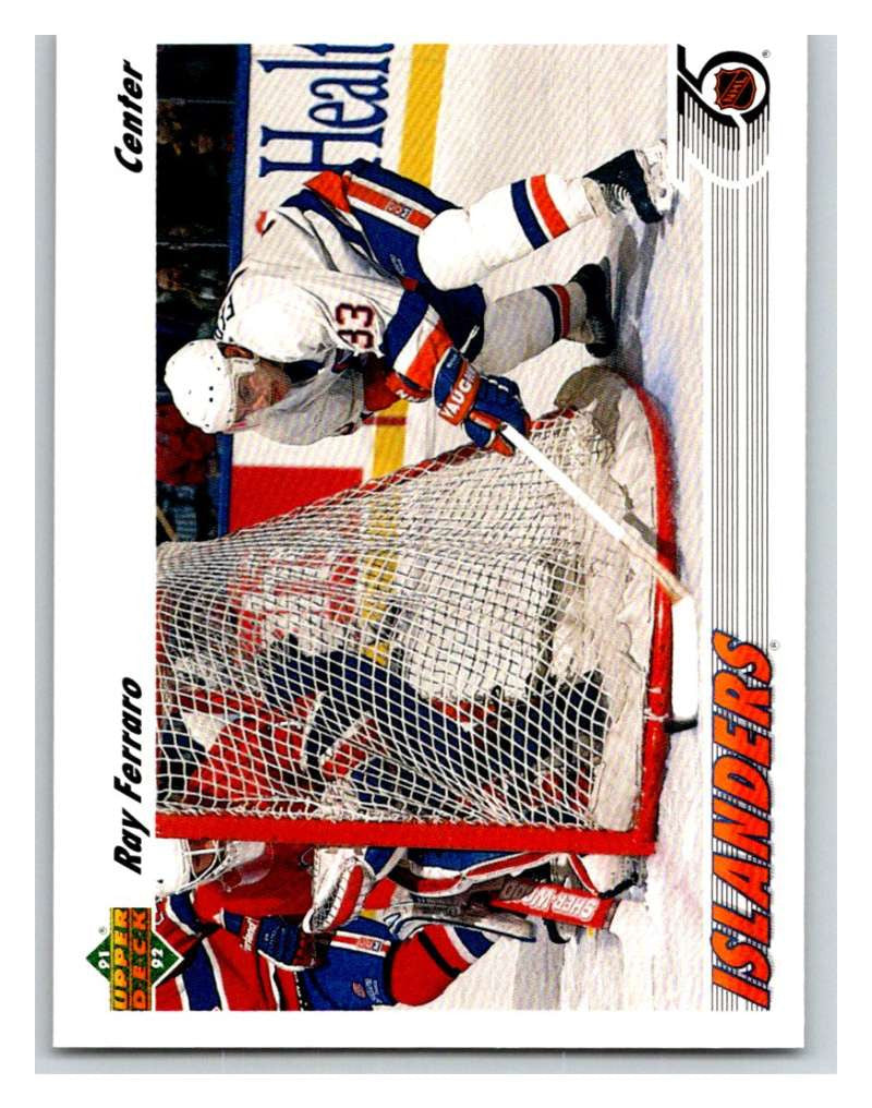 1991-92 Upper Deck #311 Ray Ferraro Mint