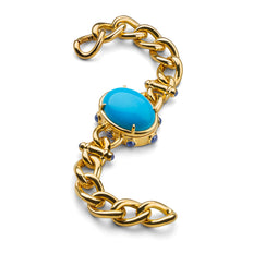 Limited Open Edition Turquoise Locket Bracelet