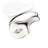 Unmasked™ Half Mask White Gold Ring