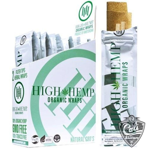 High Hemp Organic Wraps 25ct