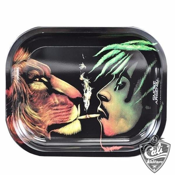 Smoke Arsenal Rolling Tray Small 7'' X 5.5'' - Animal Spirit