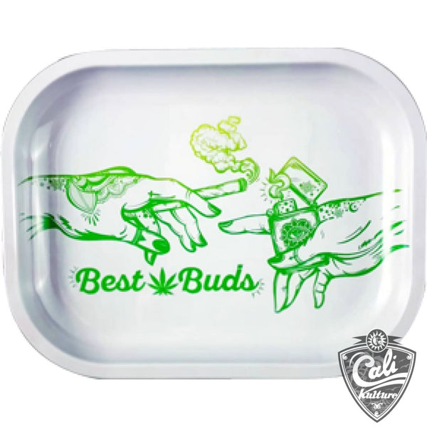 Smoke Arsenal Rolling Tray Small 7'' X 5.5'' - Best Buds