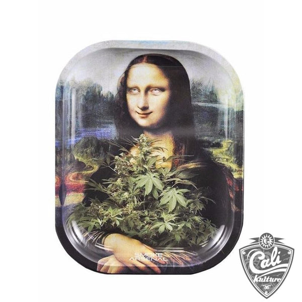 Smoke Arsenal Rolling Tray Small 7'' X 5.5'' - Stona Lisa