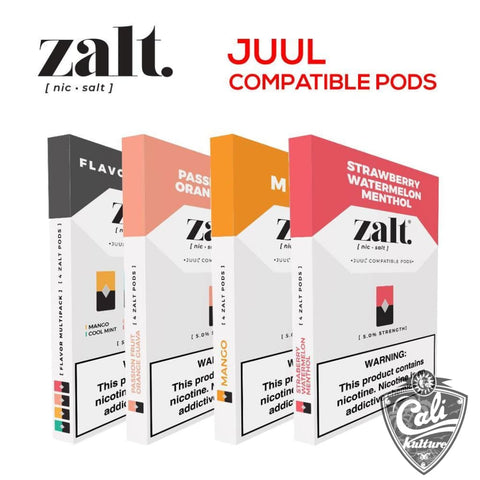 Zalt - JUUL Compatible pods - 4pk 50mg