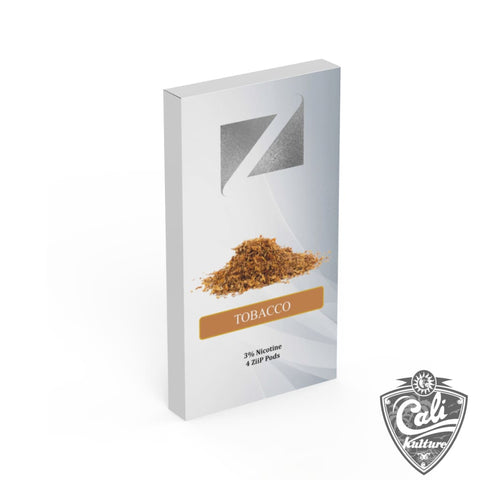 Ziip Pods 4pk - Tobacco - 50mg